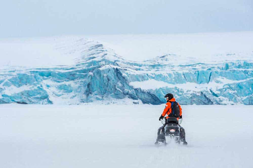 Undiscovered World Svalbard Snow Mobile Safari