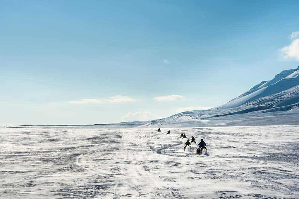 Undiscovered World Svalbard Snowmobile safari