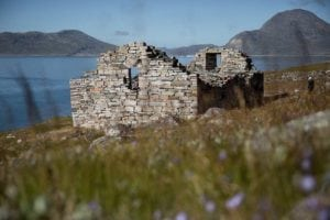 Hvalsey Church ruin South Greenland