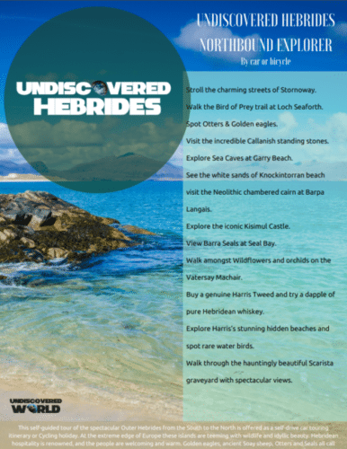 Hebrides explorer brochure