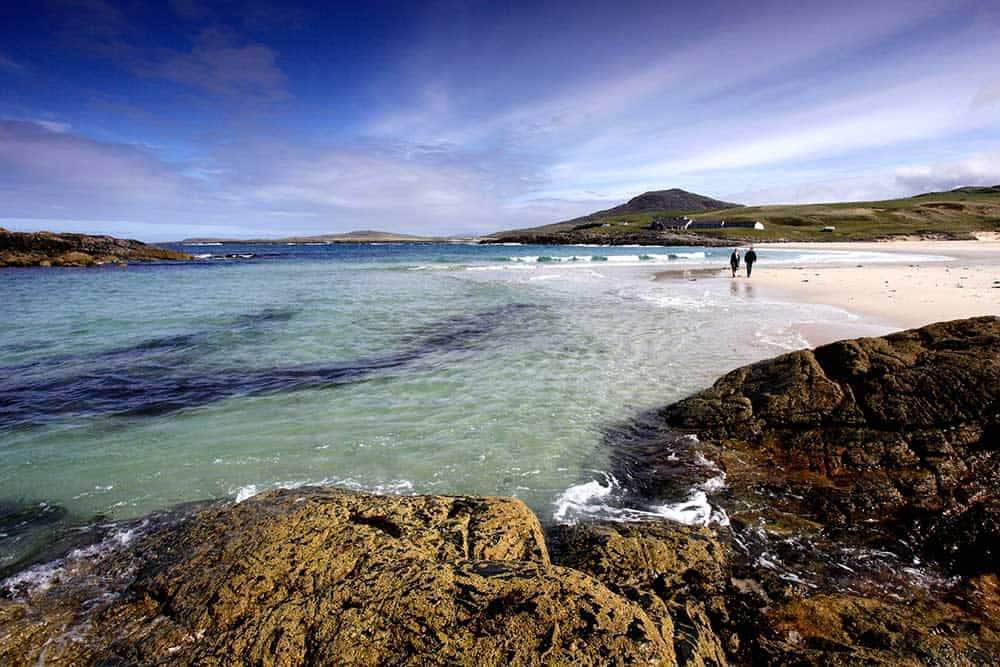 Crystal coastal walks Hebrides