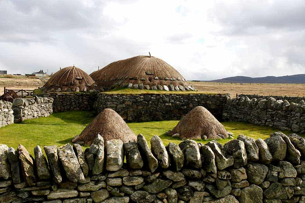 traditional houses hebrides