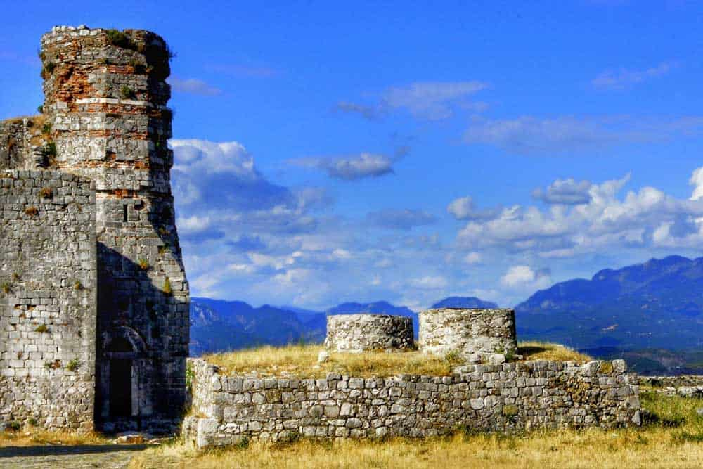 Albania fortifications
