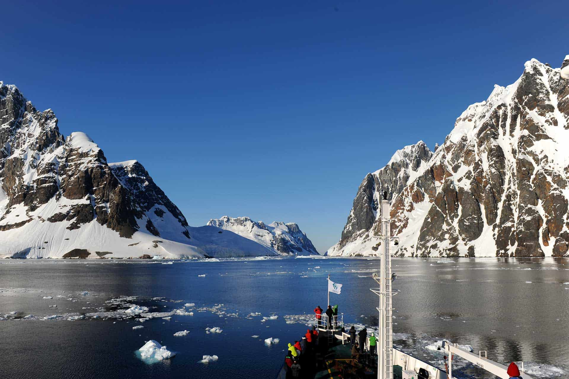 Cruising through Antarctic Waters