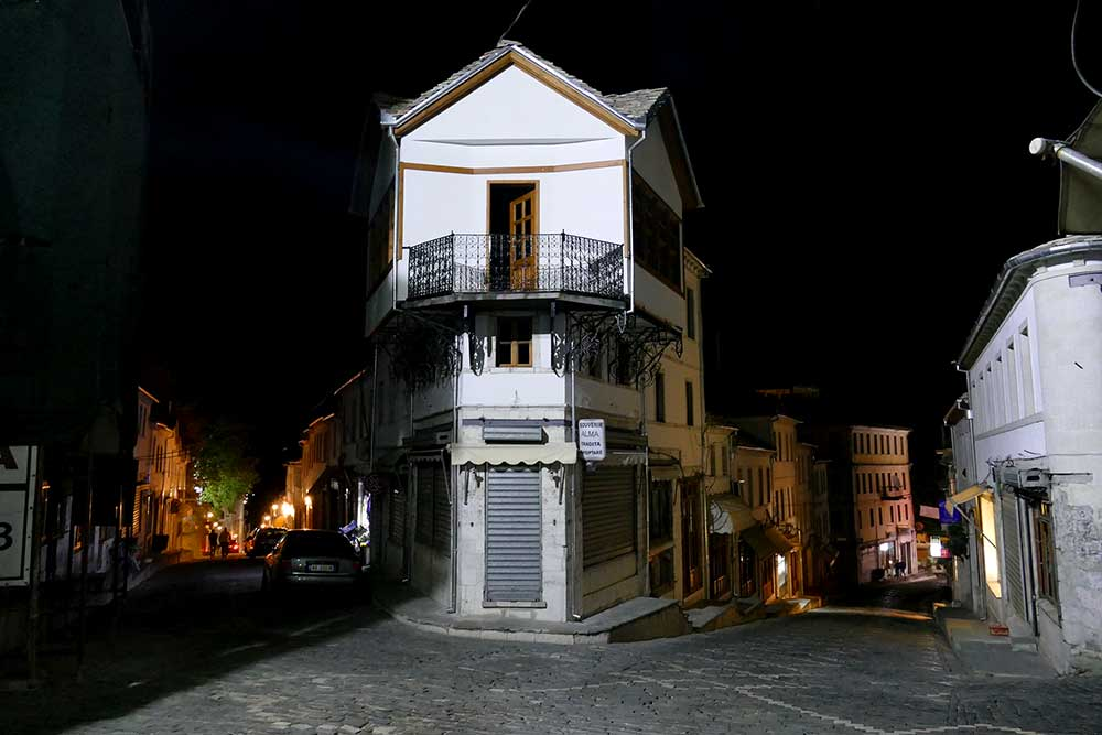 Charming and historic Albanian architecture