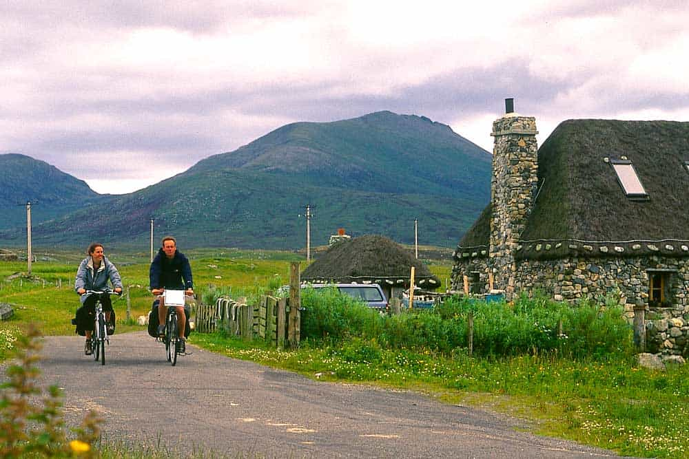 Cycling Hebrides