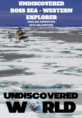 Ross Sea Western Explorer with Helicopters brochure image