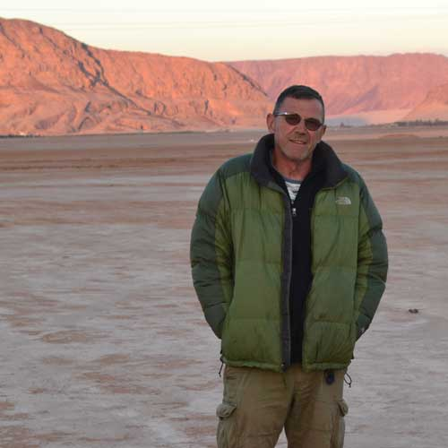 Golden Indus expedition tour leader Michael Prato