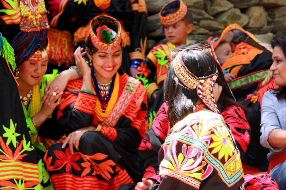 Kalash Women, Pakistan. Travel undiscovered Pakistan with Undiscovered World